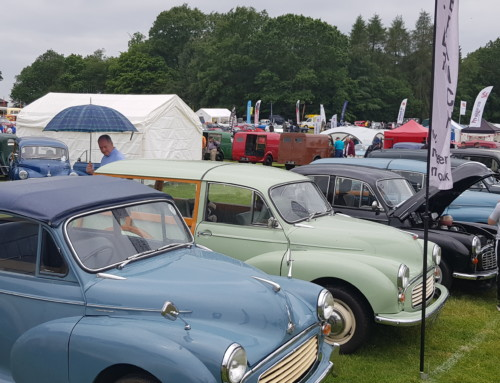 A SPECTACULAR SHOW FOR THE TATTON CLASSIC CAR WEEKEND